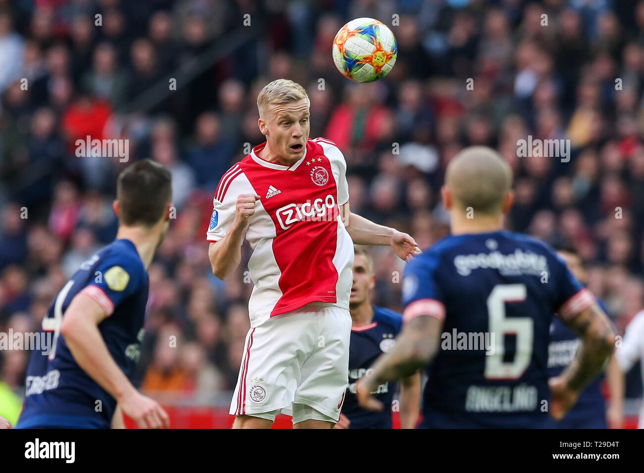 Amsterdam Netherlands 31st Mar 2019 Johan Cruyffarena Football Season 2018 2019 Dutch Eredivisie Ajax Psv Final Result 3 1 Credit Pro Shots Alamy Live News Stock Photo Alamy