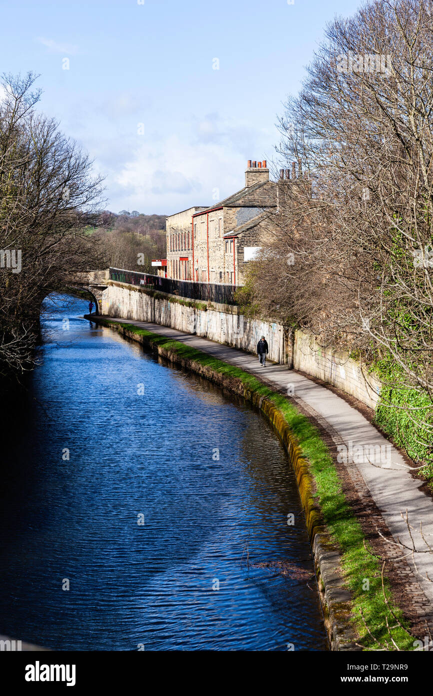 Canal towpath - Stock Image