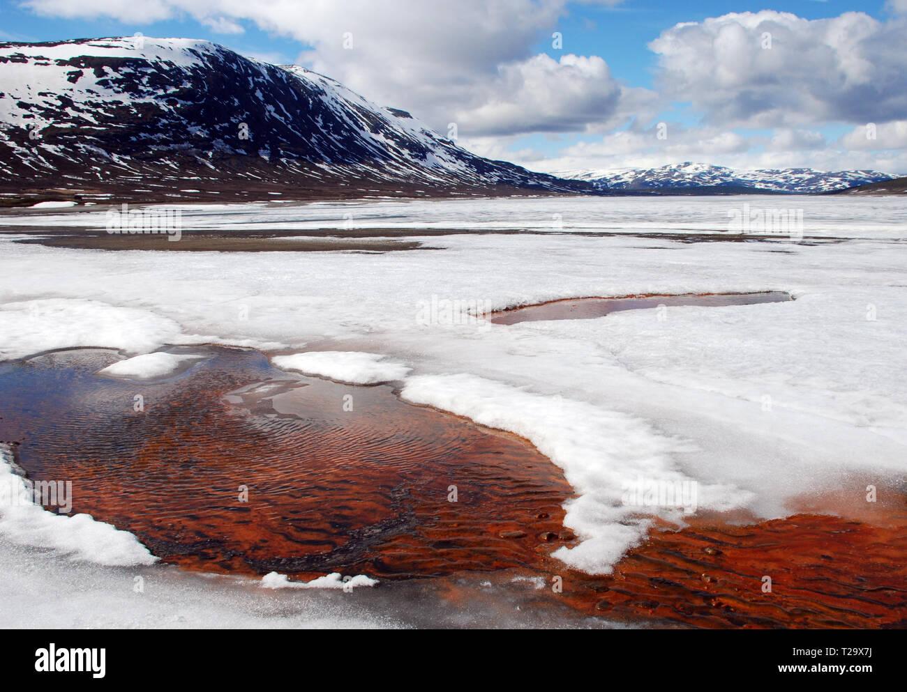 Jotunheimen National Park in Norway - Stock Image