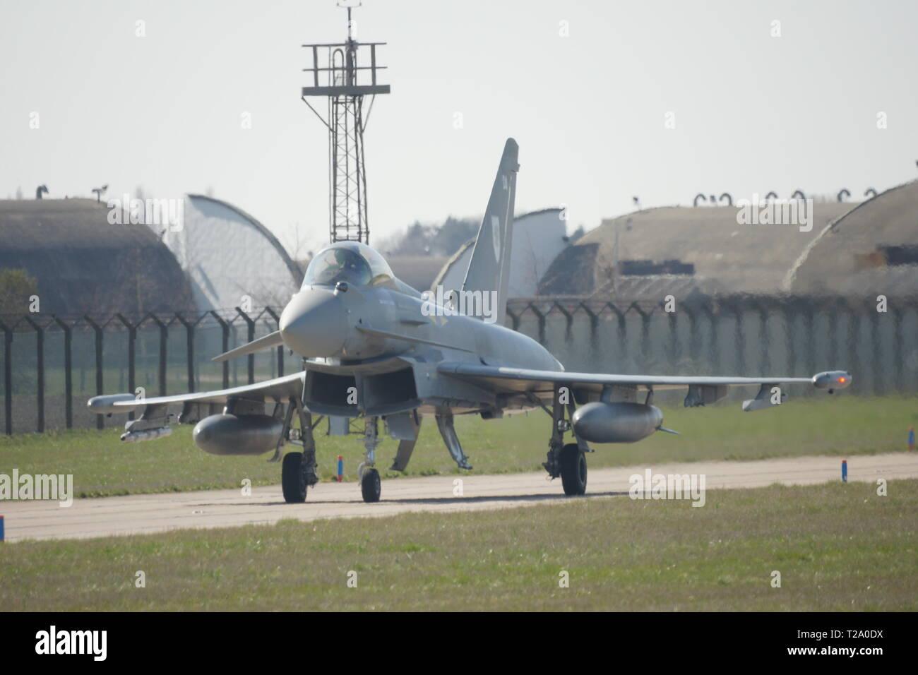 Eurofighter Typhoon, Multirole fighter Jet - Stock Image