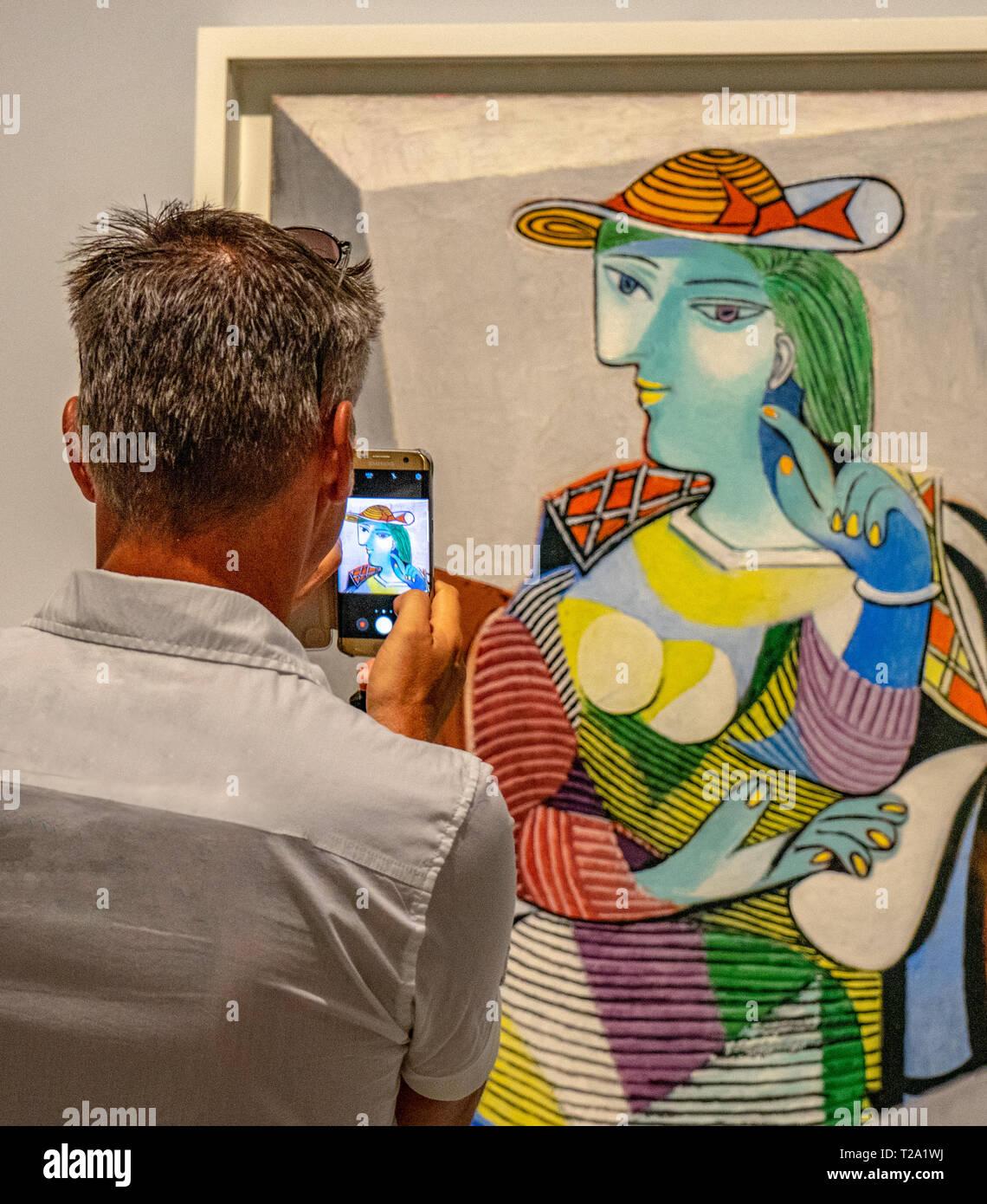 Capturing art - Stock Image