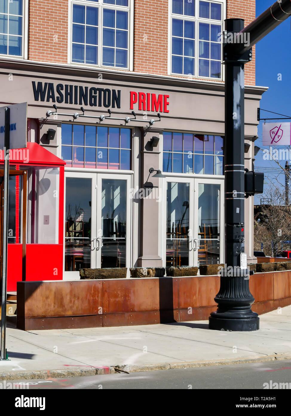 Norwalk Ct Usa March 26 2019 Washington Prime