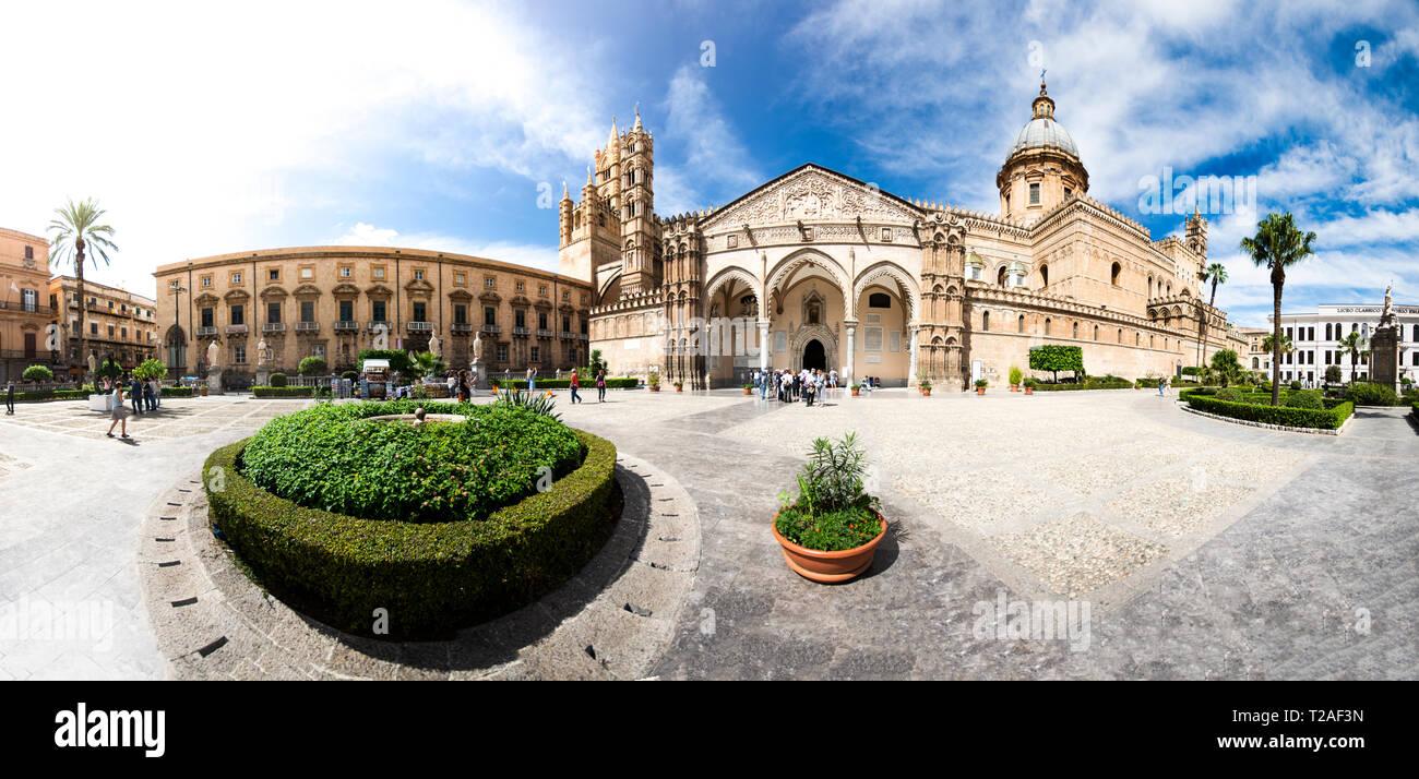 Cattedrale di Palermo , Palermo catherdal Sicily - Stock Image