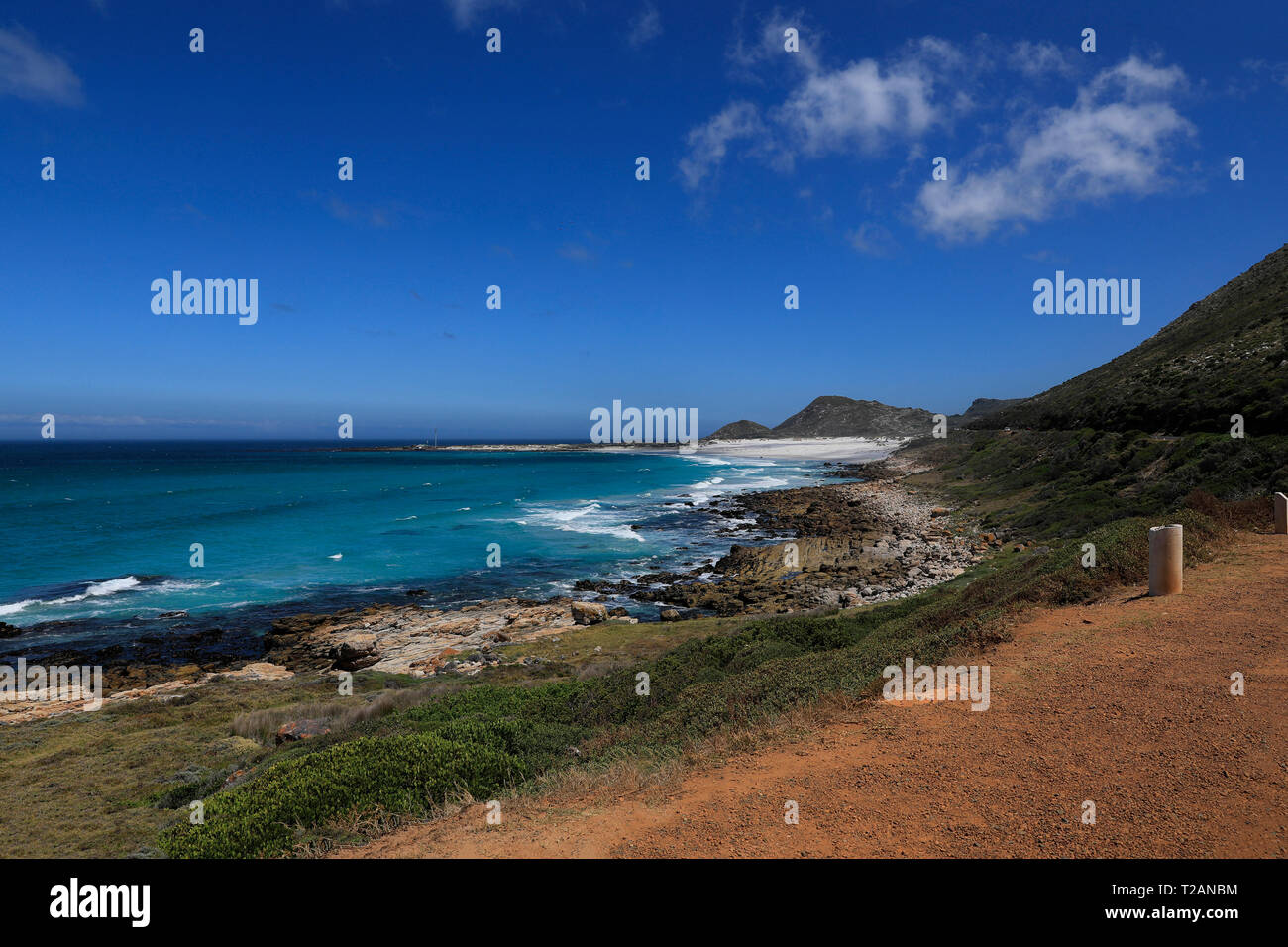 The coastal area near Misty Cliffs along the Atlantic Seaboard, Cape Town, South Africa. - Stock Image