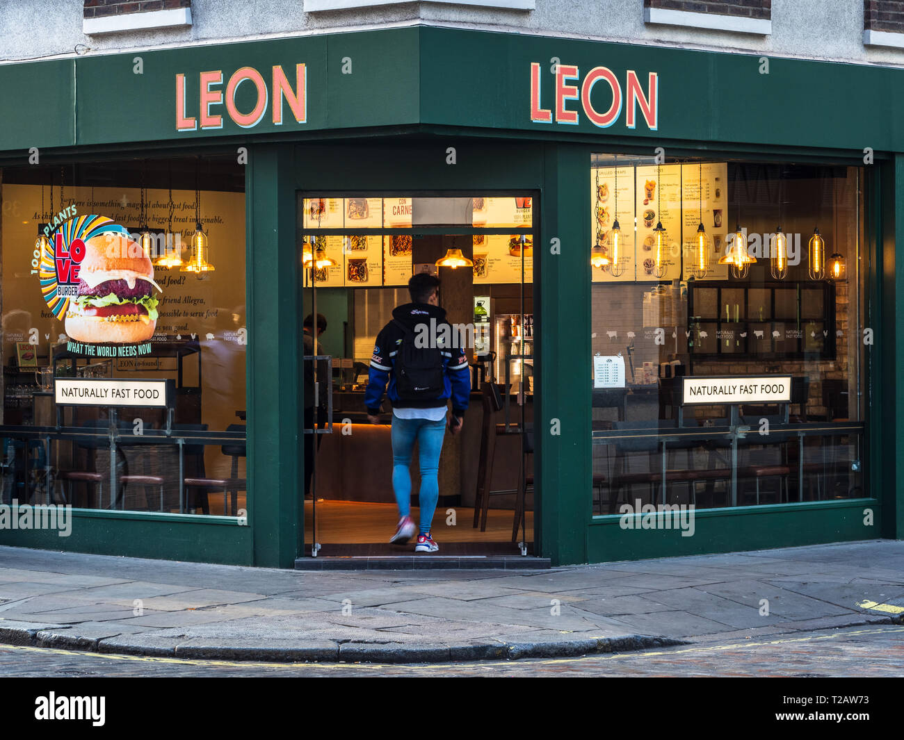 The Leon Healthy Wholesome Fast Food Restaurant In