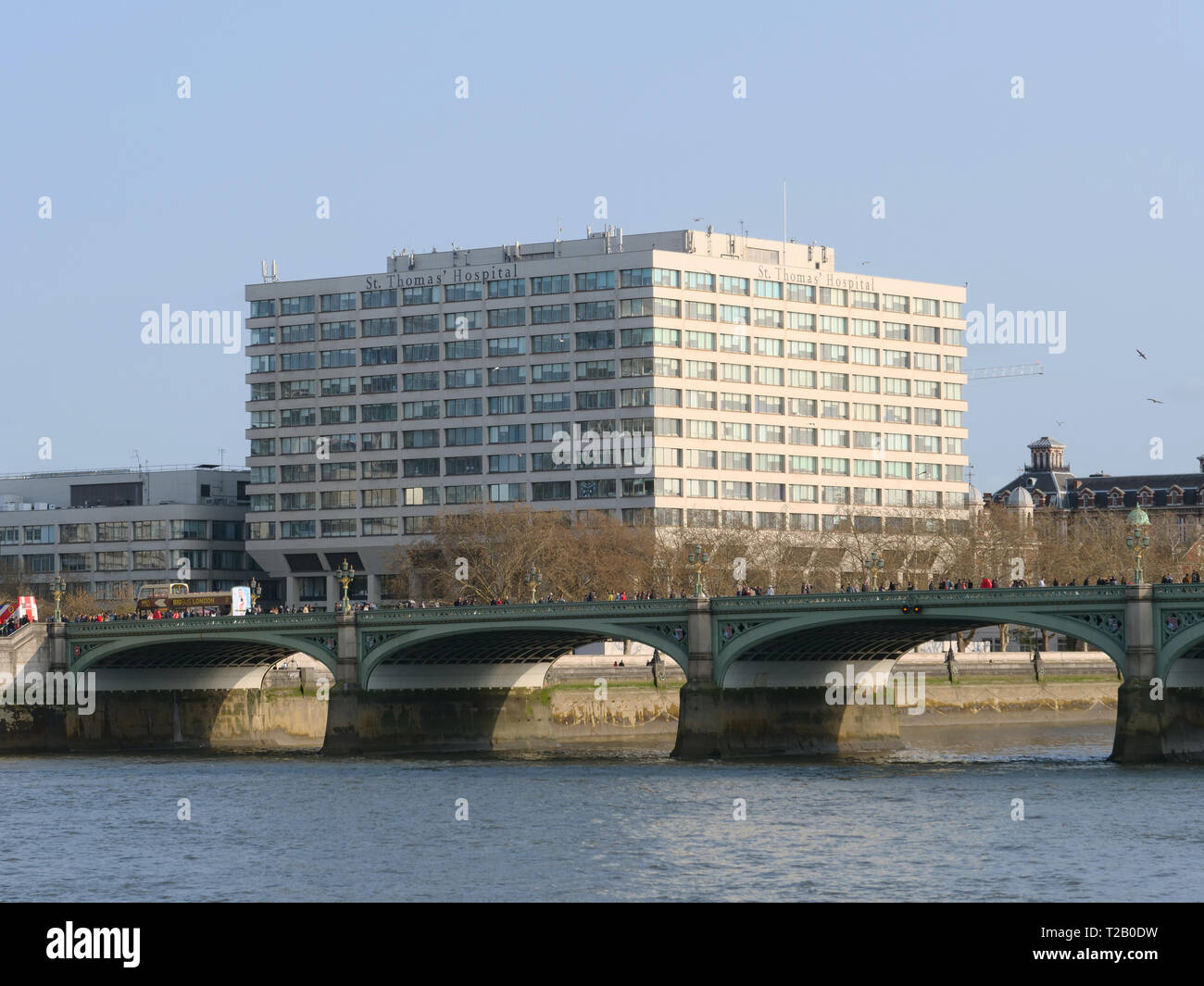 St Thomas Hospital is a teaching hospital in central London near