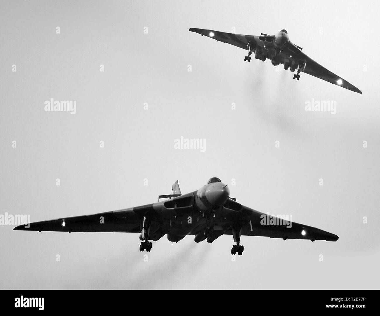 Avro Vulcan, cold war nuclear bomber - Stock Image