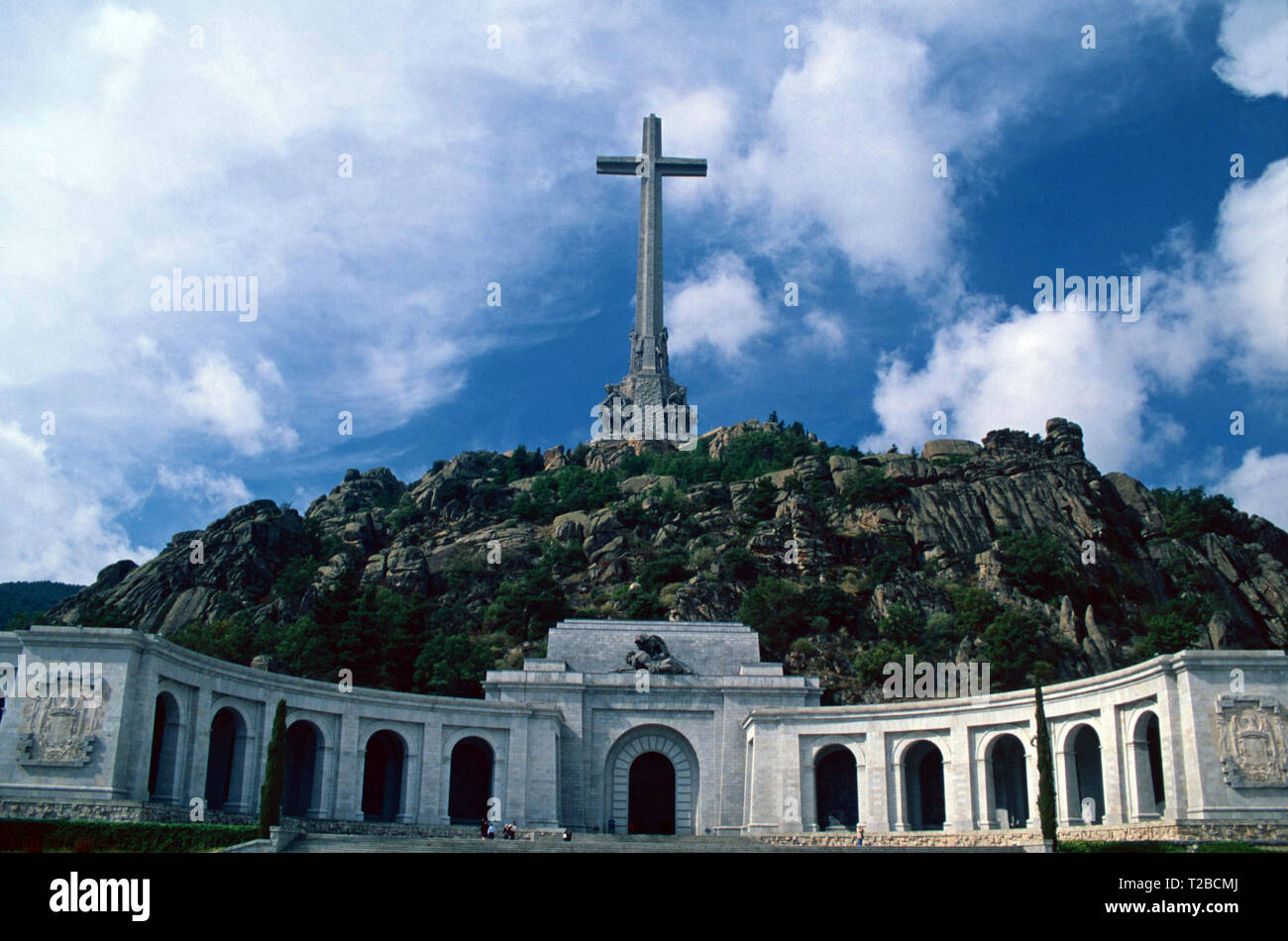 Valley of the Fallen,San Lorenzo,Spain Stock Photo