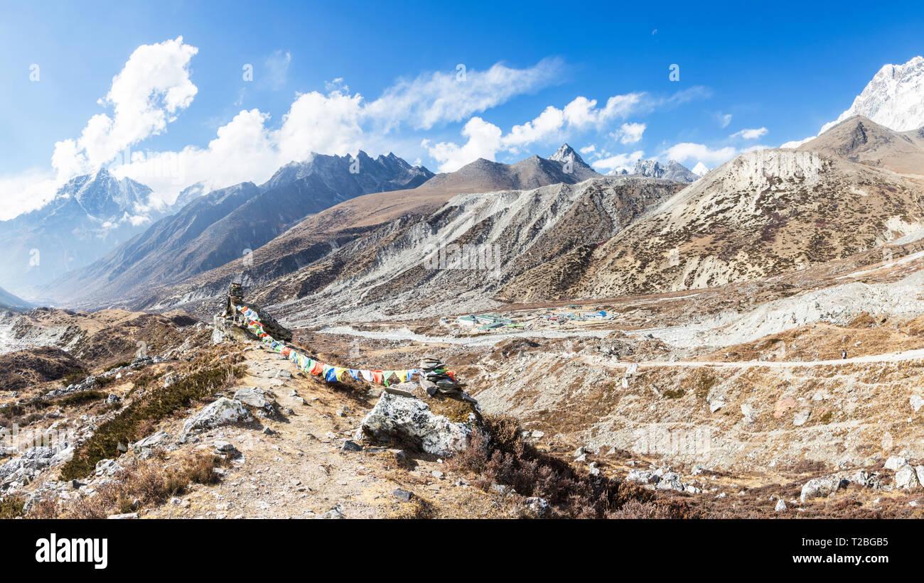 Chukhung, Sagarmatha National Park, Nepal - Stock Image
