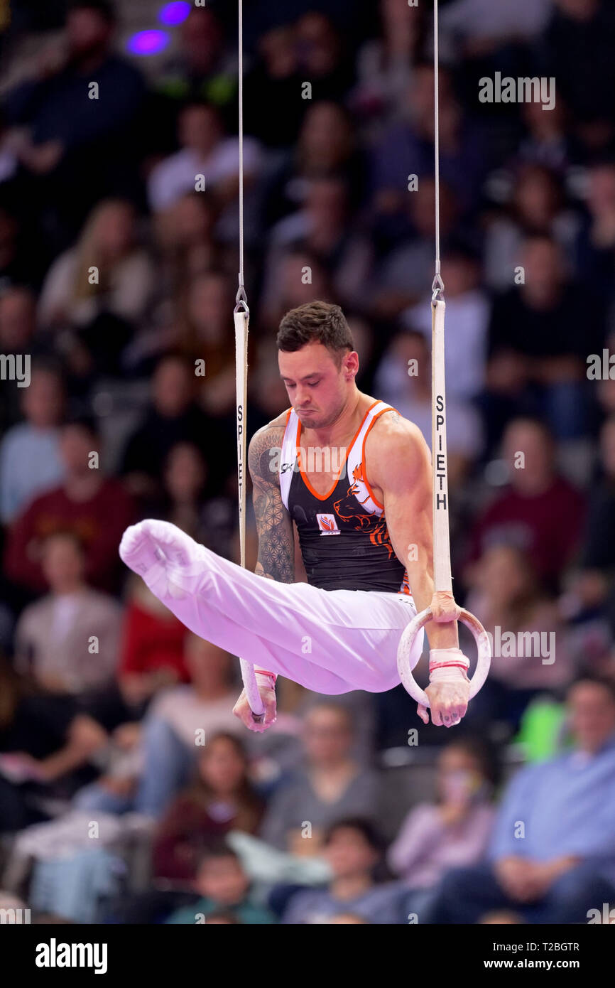 Bart Deurloo, NED, EnBW DTB Pokal, Stuttgart 2019 Stock Photo