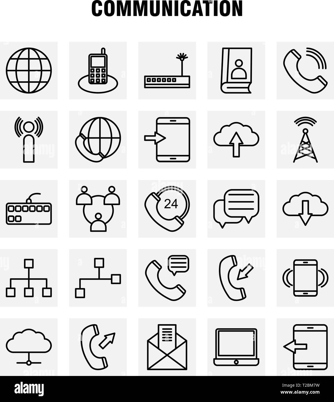 Fashion Line Icons Set For Infographics, Mobile UX/UI Kit And Print Design. Include: Date, Day, Month, Event, Crown, King, Hat, Jewel, Collection Mode - Stock Image