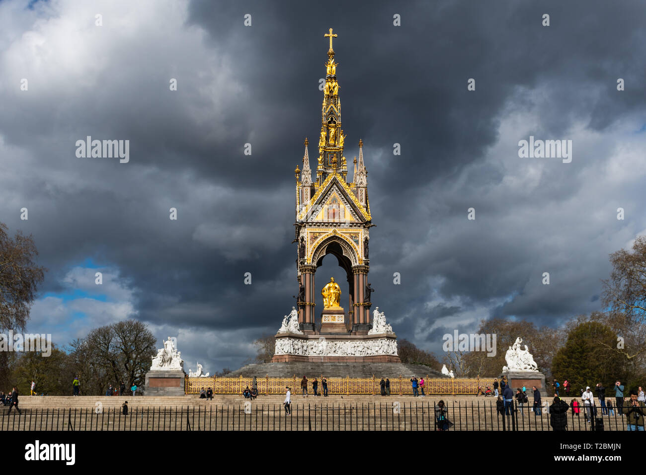 London monuments - Stock Image