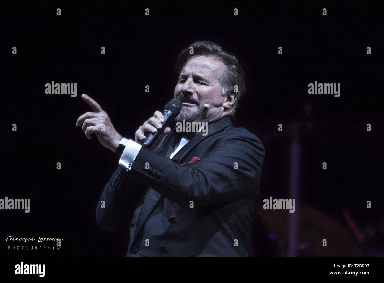 Rome, 31 march 2019, Auditorium, Parco della musica, Christian De Sica, Actor, Show Stock Photo
