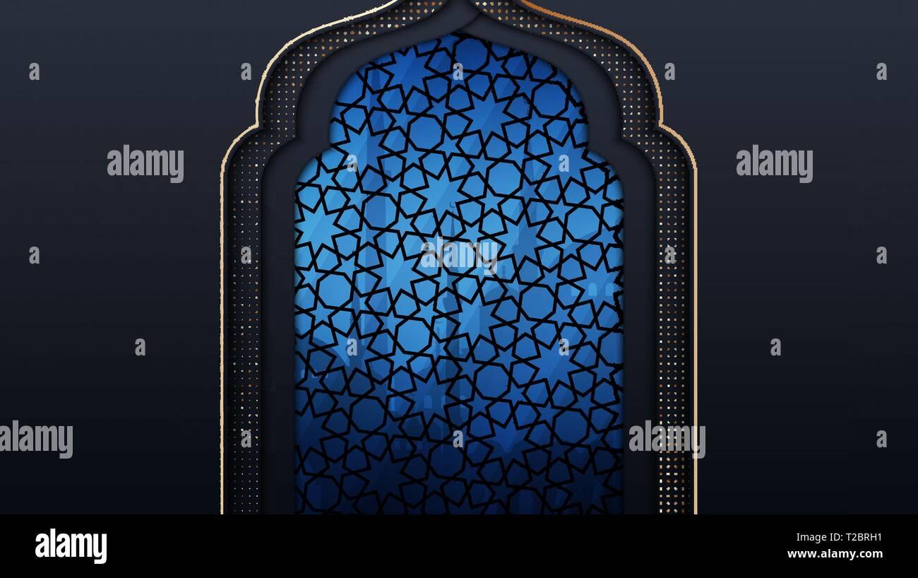 Banner Islamic Poster Background Design