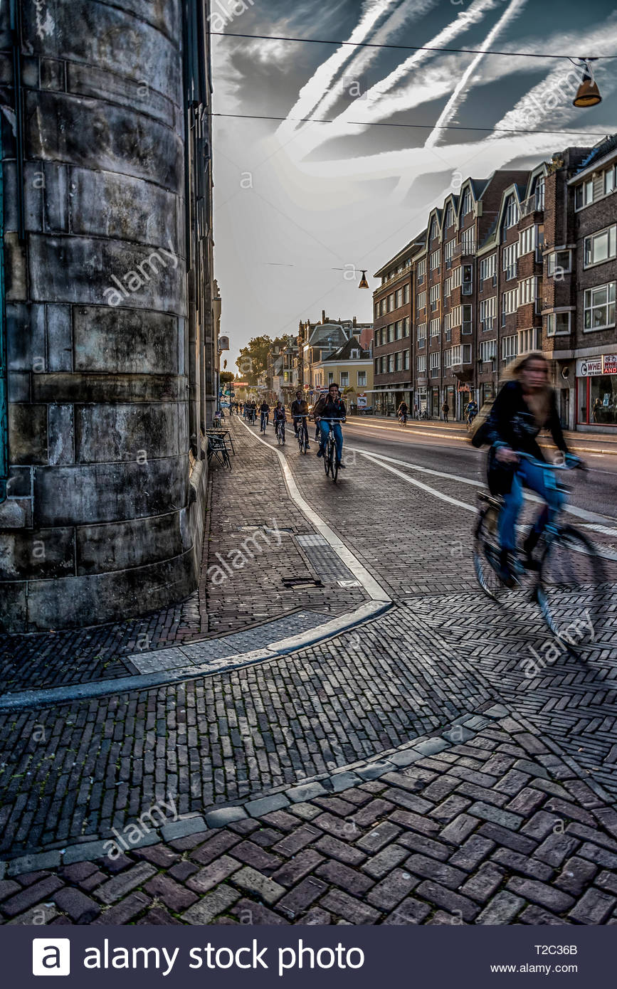 The Morning Commute - Stock Image