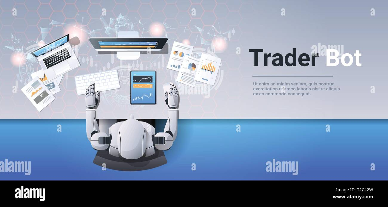 Robot Looking At Graphs Indexes Financial Data On Computer Monitor Trading Stocks Online Trader Bot Broker Finance Trade Ai Concept Top Angle Stock Vector Image Art Alamy Shop the most successful bots to secure the most coveted sneakers, clothing, funkos, and more. https www alamy com robot looking at graphs indexes financial data on computer monitor trading stocks online trader bot broker finance trade ai concept top angle image242441105 html