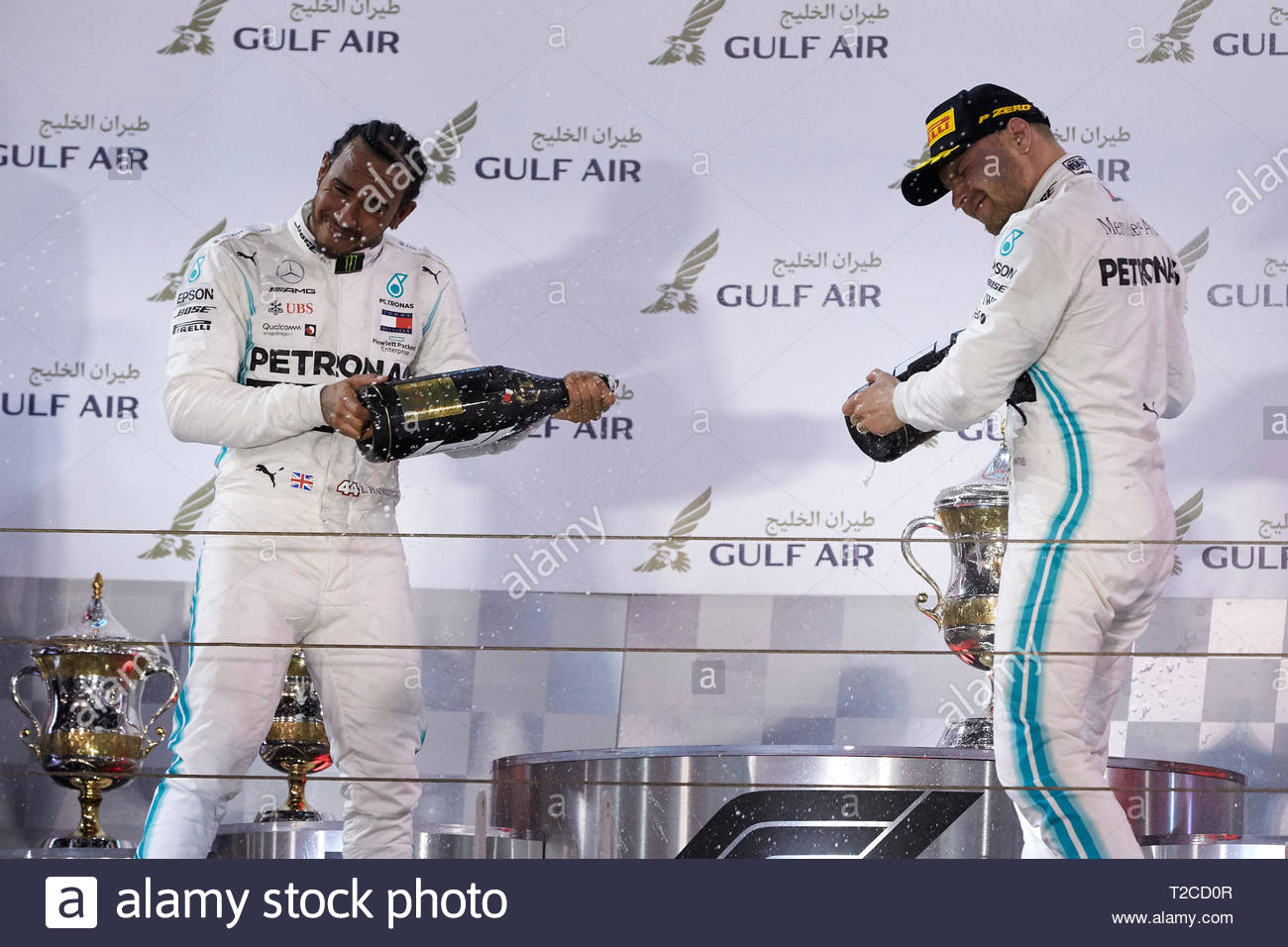 25f95261 BAHRAIN INTERNATIONAL CIRCUIT, BAHRAIN - MARCH 31: Lewis Hamilton, Mercedes  AMG F1,
