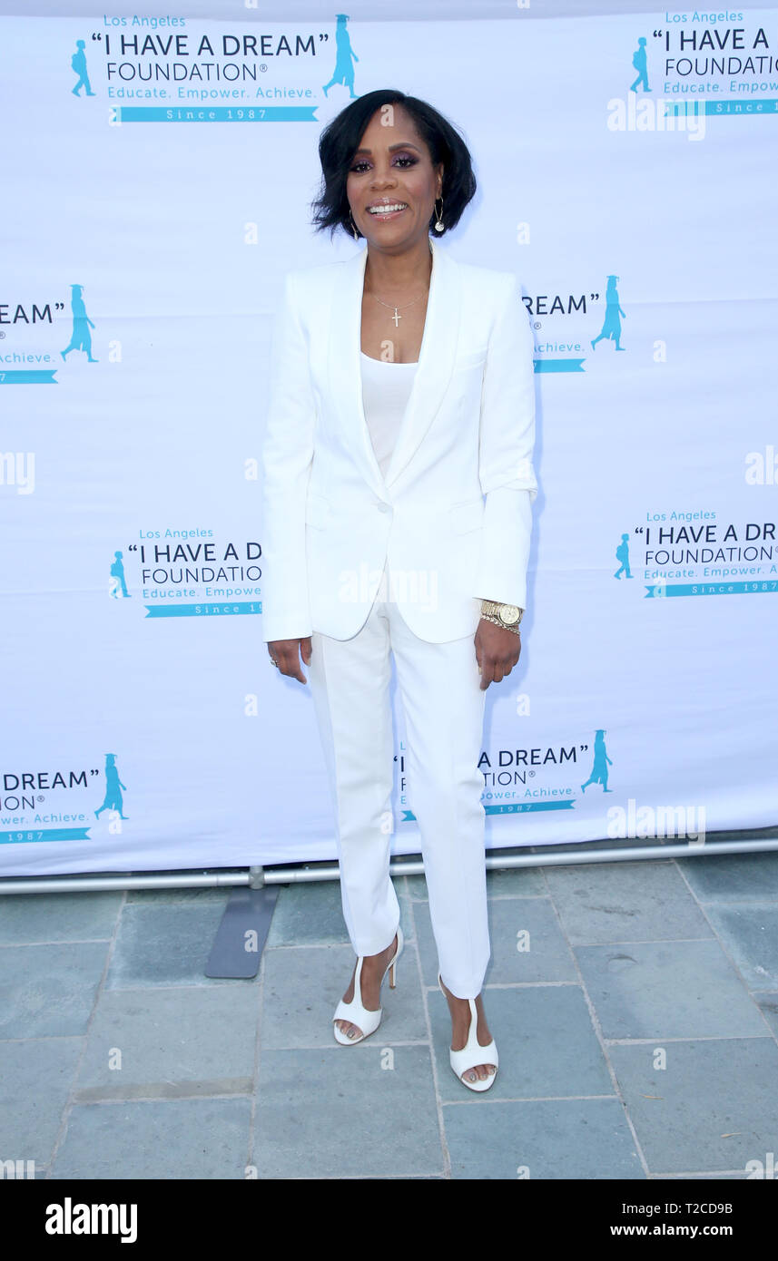 Los Angeles, California, USA. 31st Mar, 2019. Korin D. Williams, Attend 'I Have A Dream' Foundation Los Angeles Hosts 6th Annual Dreamer Dinner Benefit at Skirball Cultural Center on March 31, 2019 in Los Angeles. Credit: Faye Sadou/MediaPunch Credit: MediaPunch Inc/Alamy Live News - Stock Image