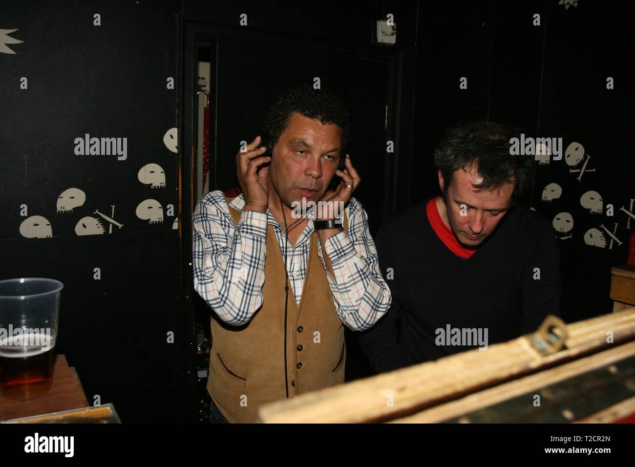 Liverpool,Uk Actor Craig Charles djs in Liverpool nightclub credit Ian Fairbrother/Alamy Stock Photos - Stock Image
