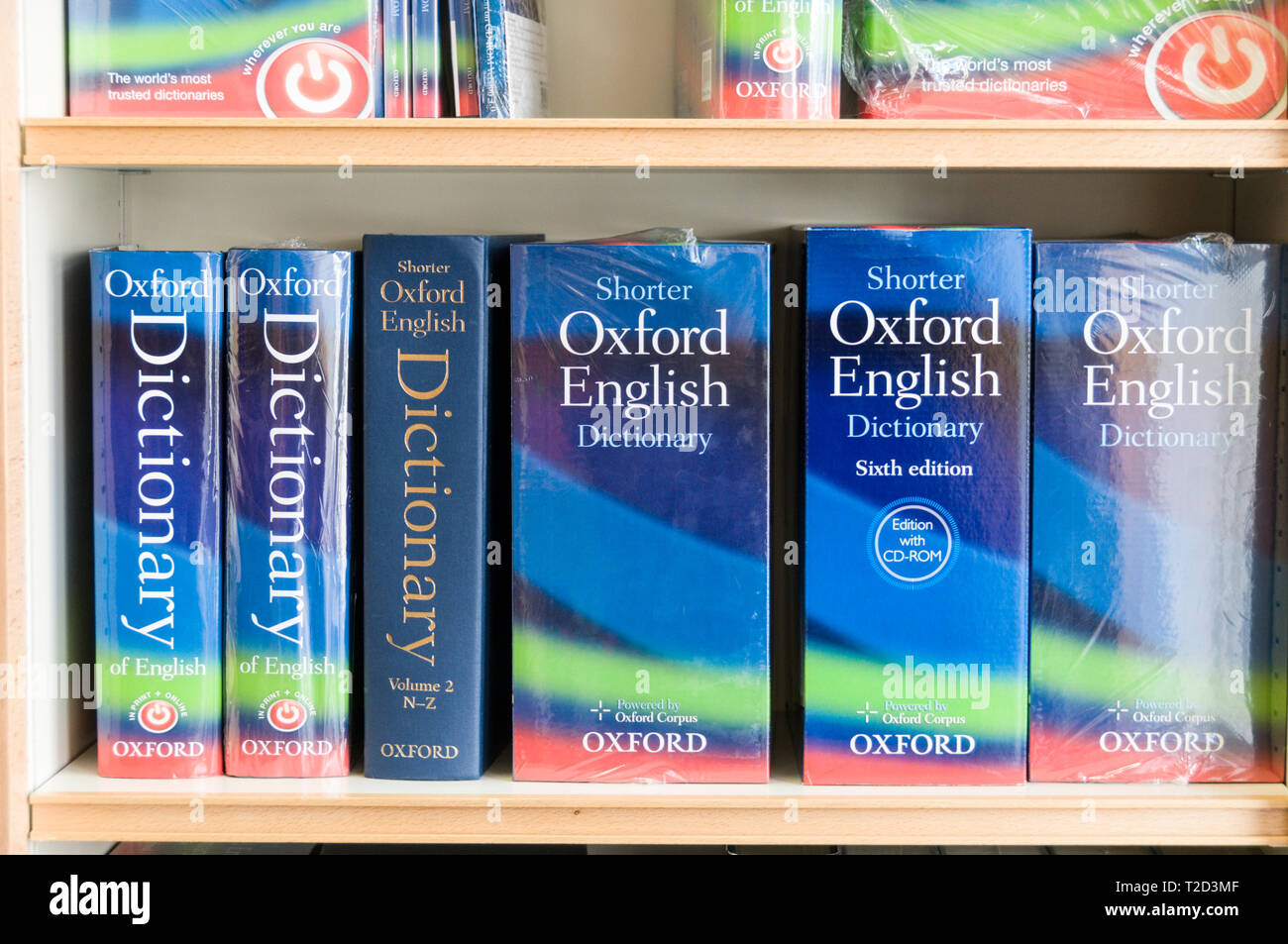 Oxford English Dictionary Stock Photos & Oxford English