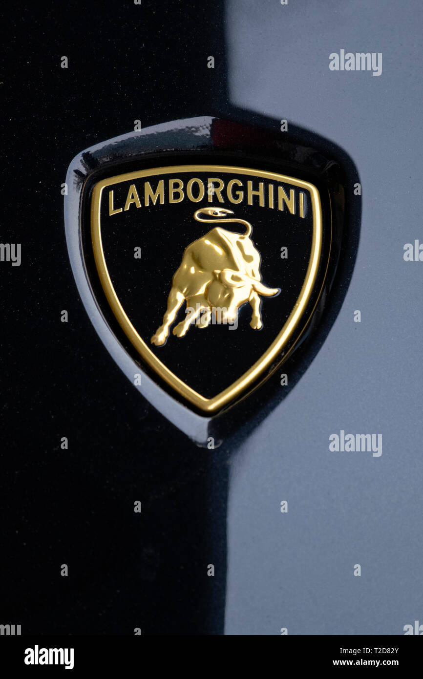 Lamborghini Logo Stock Photos & Lamborghini Logo Stock