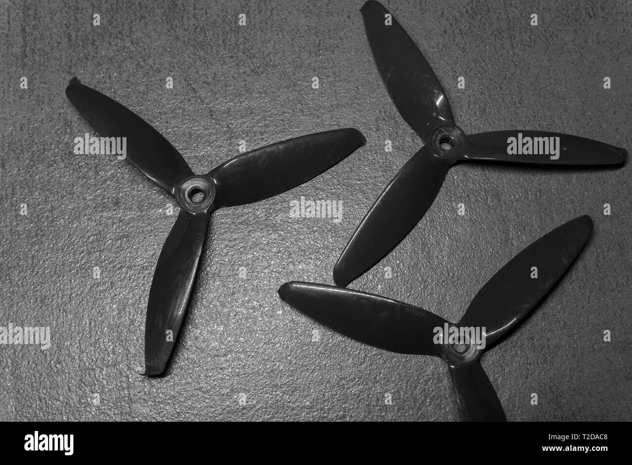 RC drone propeller - Stock Image