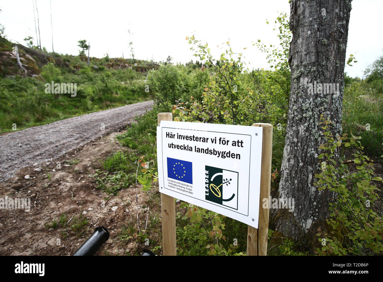 deal forces, with the help of the EU, have renovated an exercise track. - Stock Image