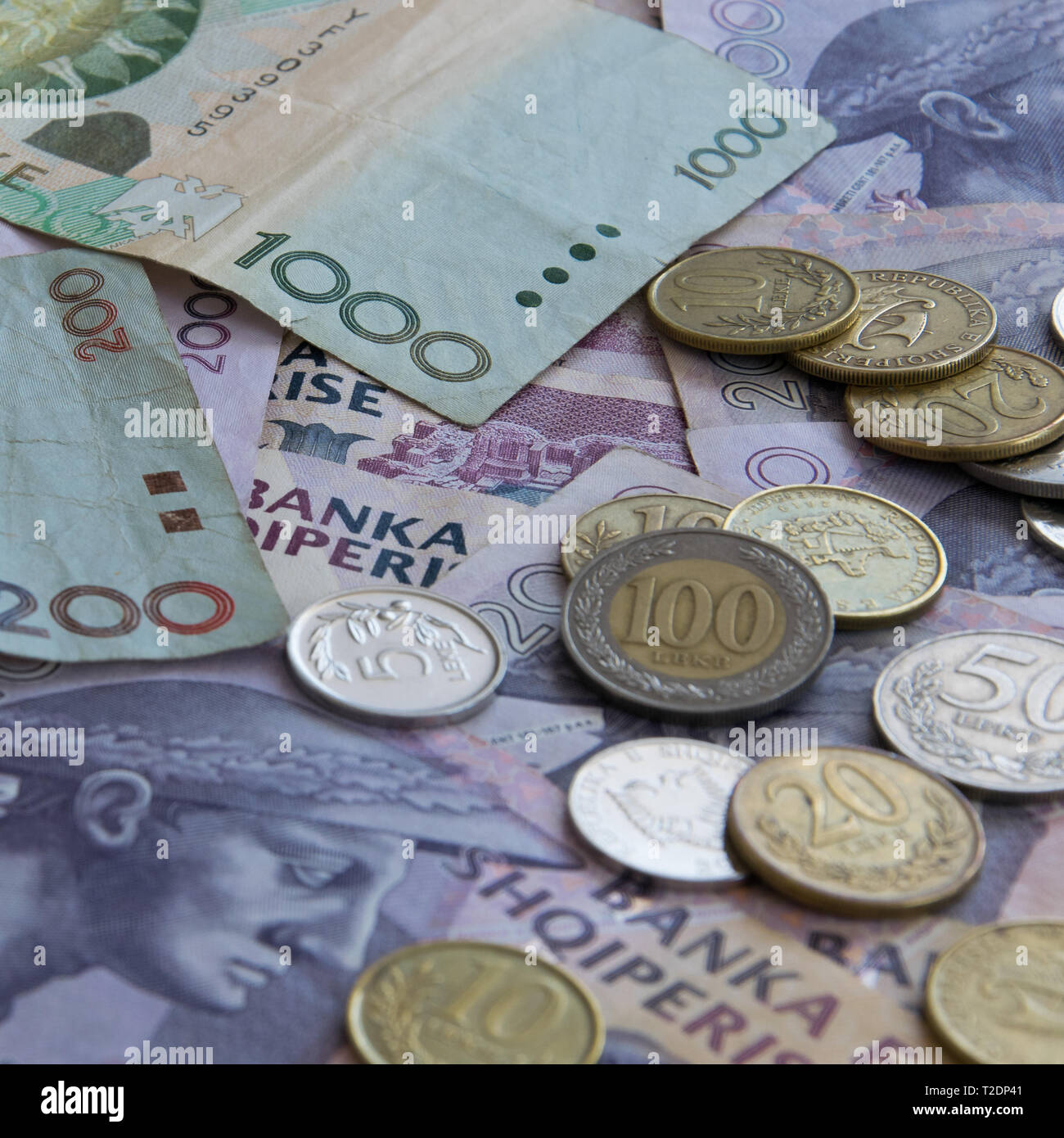 Albanian Currency Stock Photos & Albanian Currency Stock