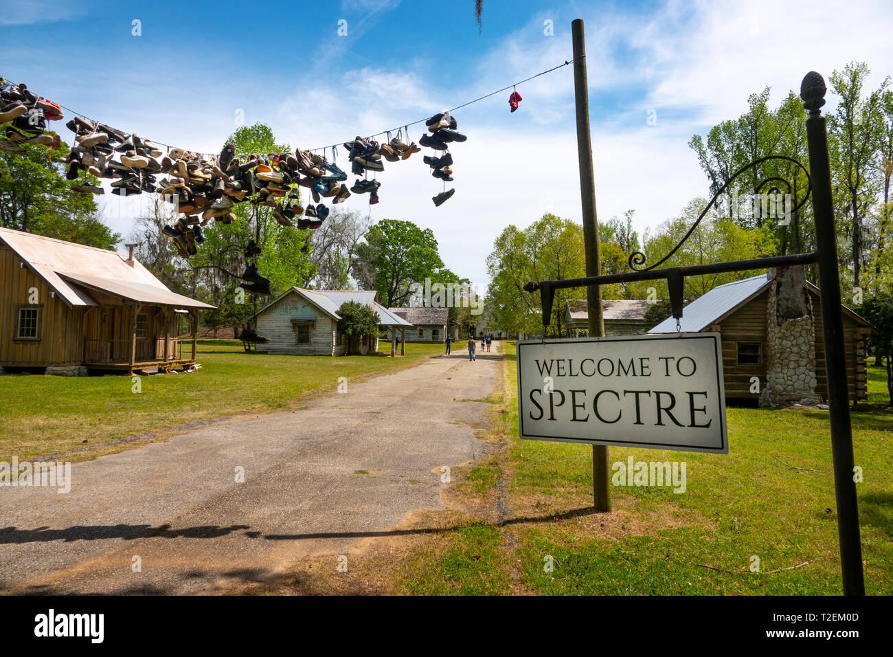 Usa Montgomery Alabama Gun Chute Island The Town Of Spectre Movie
