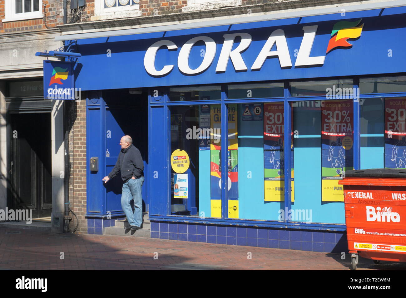 coral betting shop reading
