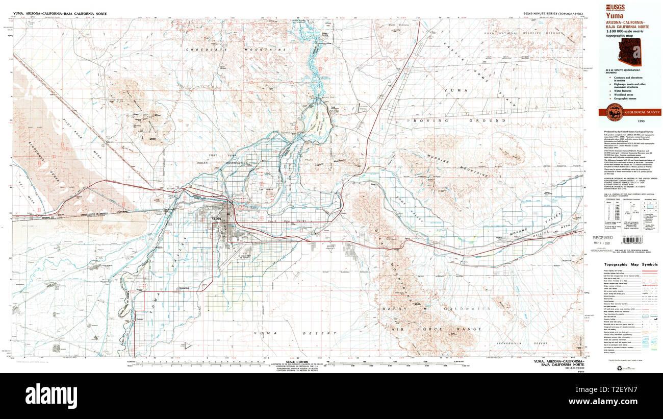 Yuma Map Stock Photos & Yuma Map Stock Images - Alamy Yuma Of Map Az Dome Valley on map of waianae hi, map of naco az, map of arizona, map of petrified forest az, map of prescott az, map of cochise az, map of pinedale az, map of christopher creek az, map of valle az, map of stanfield az, map of phoenix az, map of portal az, map of santa cruz county az, map of black canyon city az, map of sun city grand az, map of nutrioso az, map of colorado river az, map of gila river az, map of fort mcdowell az, map of tacna az,