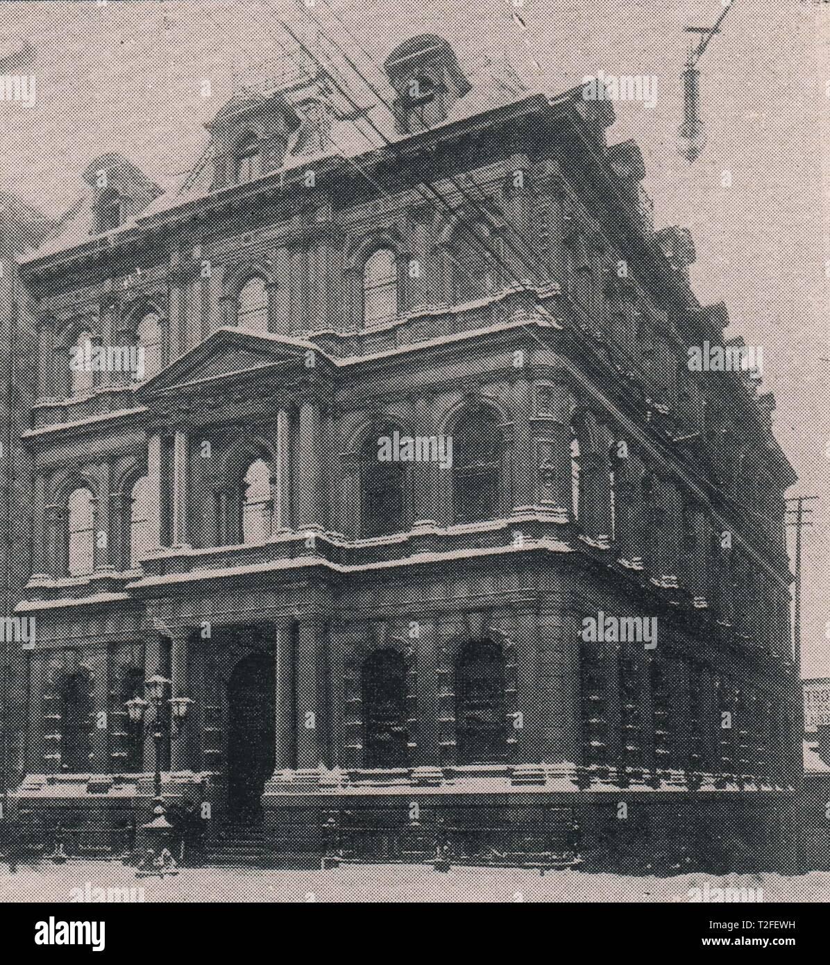 The Merchants Bank of Canada - Stock Image