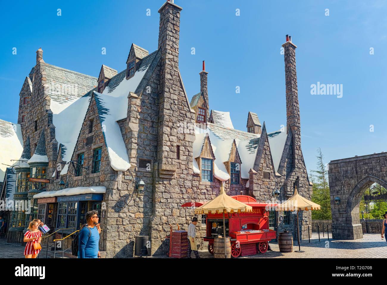 Magic Castle Hollywood California Stock Photos & Magic