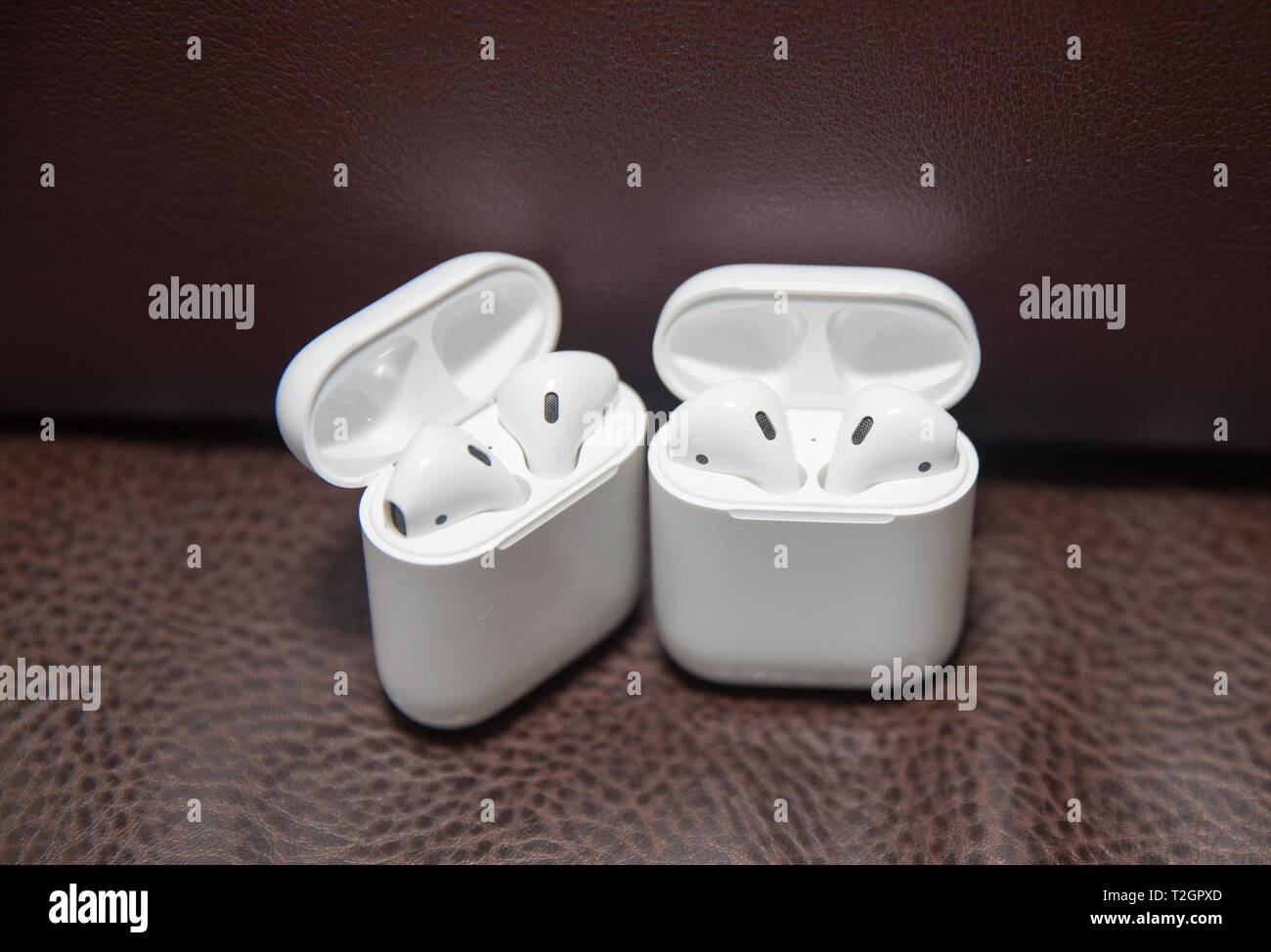 newest 0e119 e14bf Lawrence Township New Jersey, March 11, 2019:Apple AirPods wireless ...