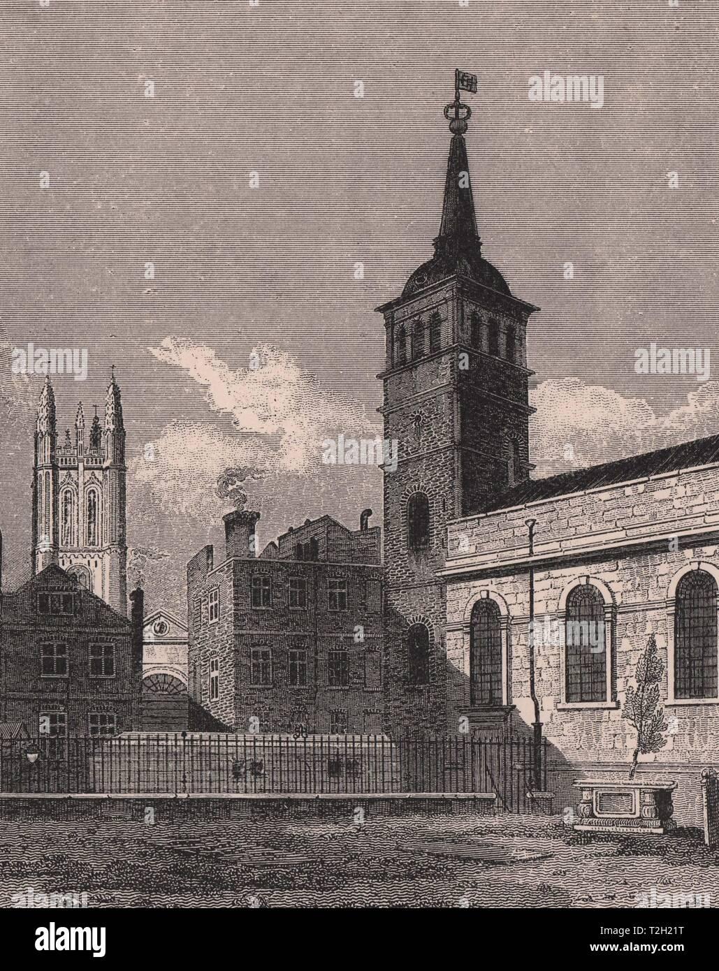 St. Peter's, Cornhill - Stock Image