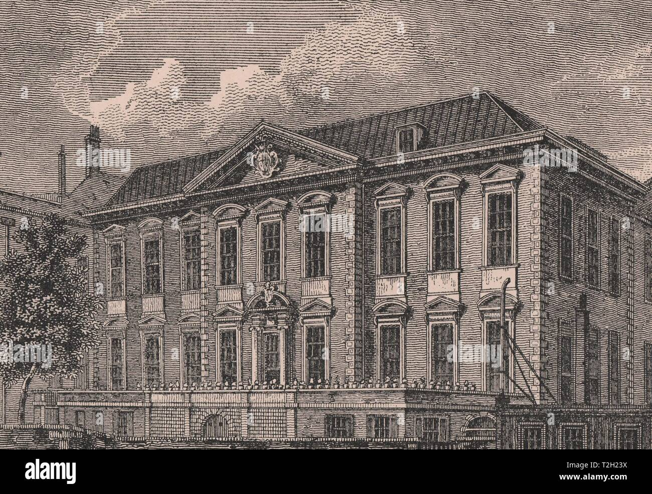 Fishmongers Hall in 1811 - Stock Image