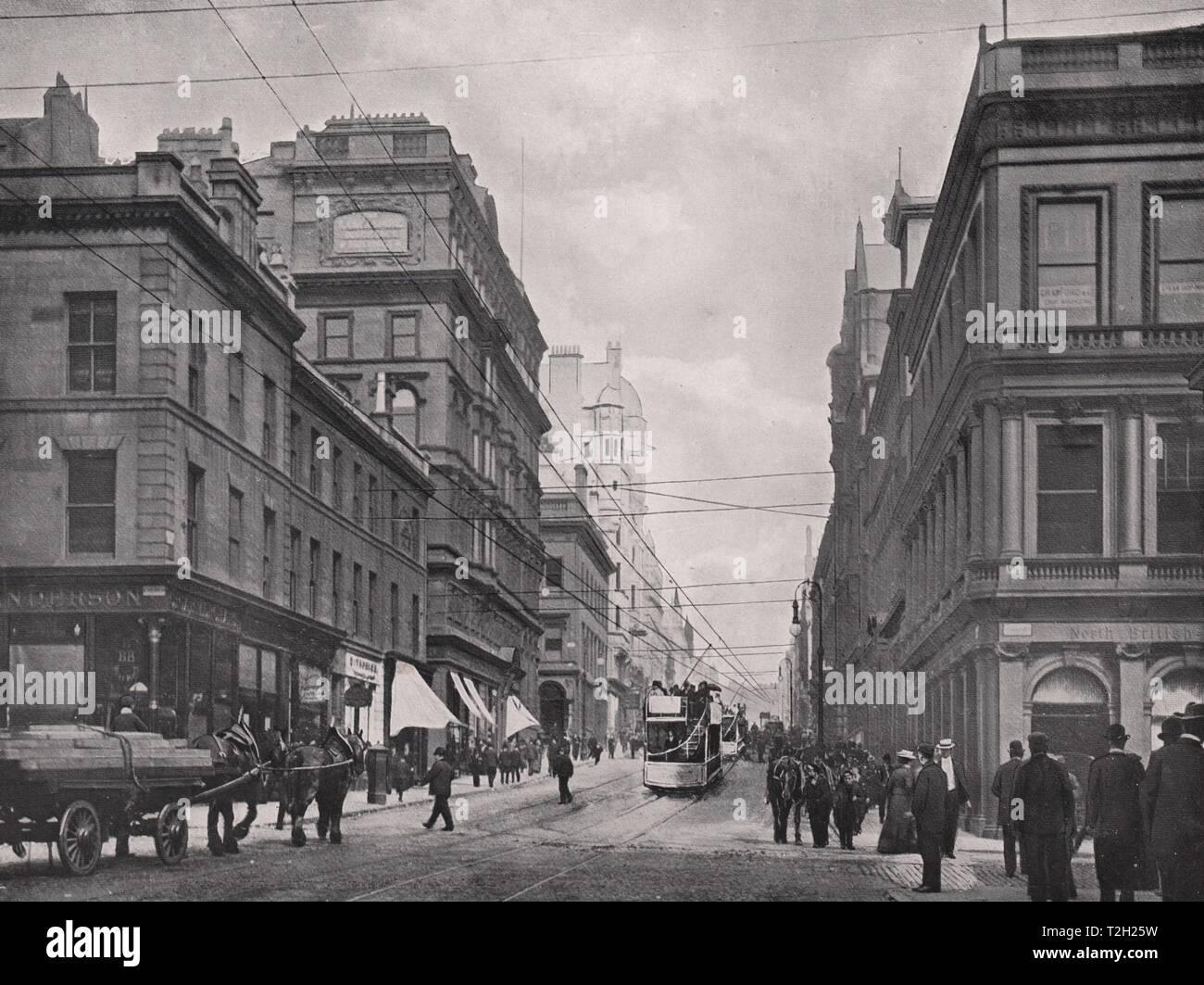 Renfield Street, looking North - Stock Image