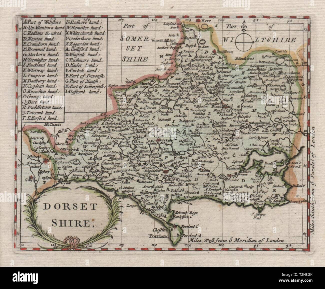 Europe Maps Art Antique County Map Of Dorsetshire By John Cary 1787 Old Plan Chart And Digestion Helping