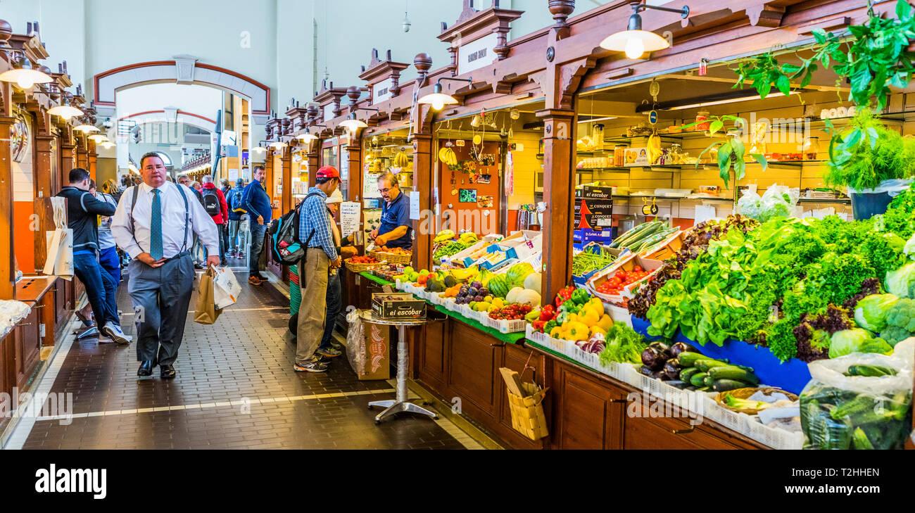 Kauppahalli market in Helsinki, Uusimaa, Finland, Europe - Stock Image