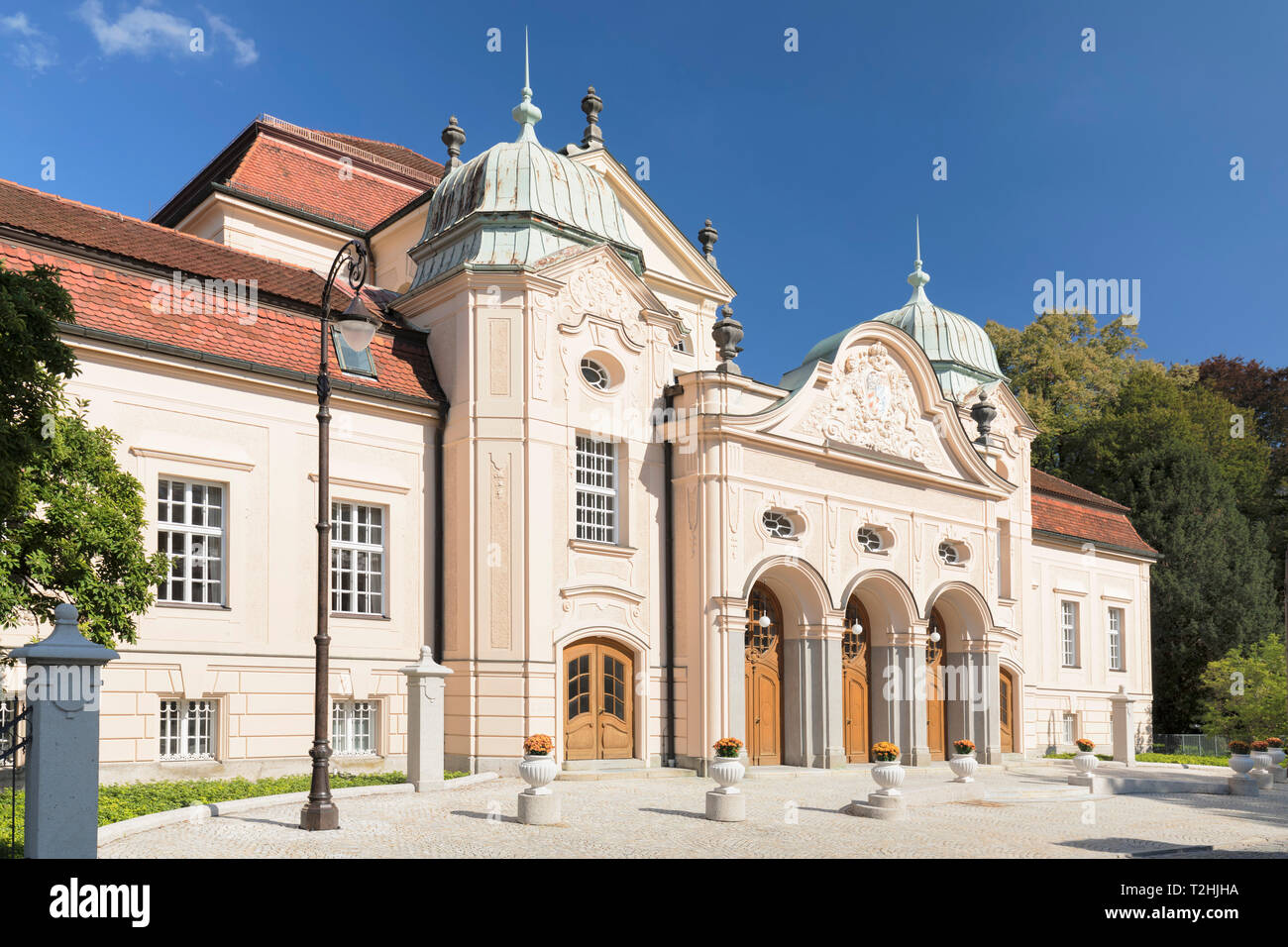 Konigliches Kurhaus (Royal Spa House), Bad Reichenhall, Bayern, Oberbayern, Germany, Europe - Stock Image