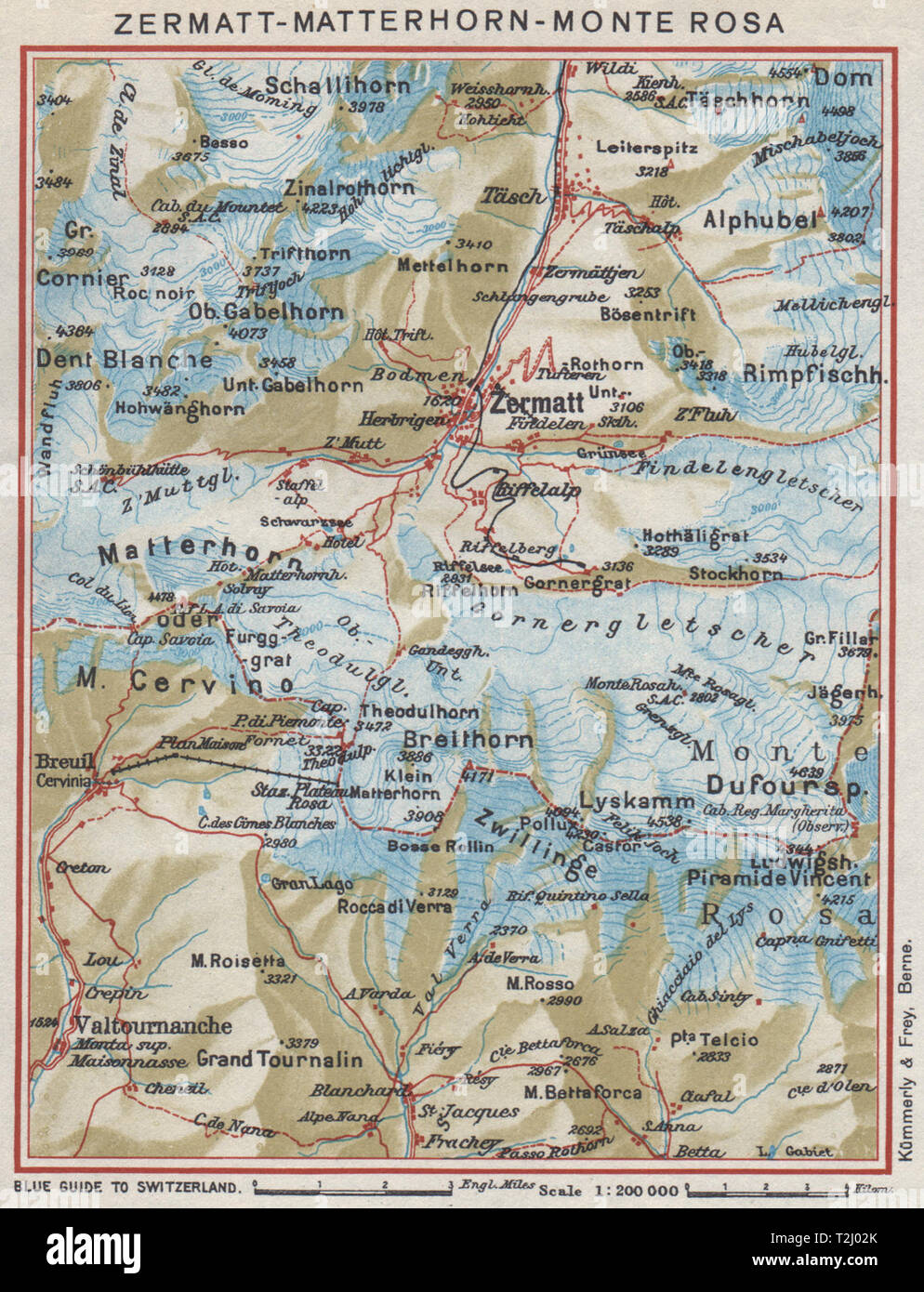 ZERMATT MATTERHORN MONTE ROSA.Breuil-Cervinia.Switzerland ... on engadin switzerland map, zurich switzerland map, geneva switzerland map, davos switzerland map, pfaffikon switzerland map, mannlichen switzerland map, andes mountains map, lugano switzerland map, switzerland on europe map, wengen switzerland map, sils maria switzerland map, saas-fee switzerland map, switzerland on world map, matterhorn switzerland map, monte rosa map, interlaken map, schilthorn switzerland map, st. moritz switzerland map, basel switzerland map, paris switzerland map,