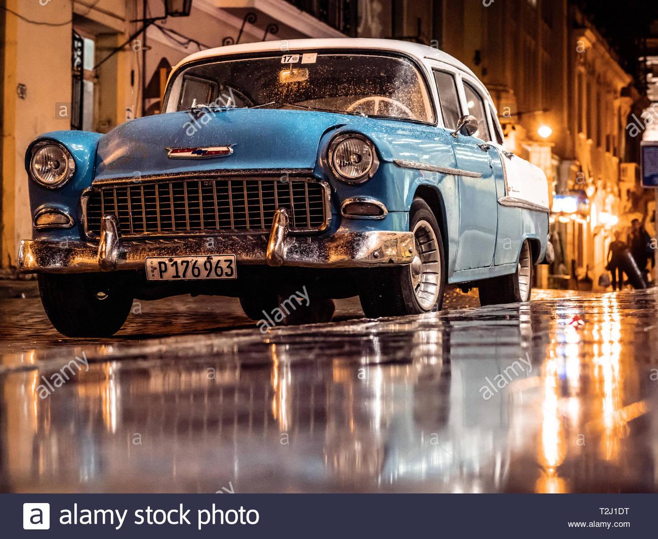 La Habana Vieja. Cuba - Stock Image
