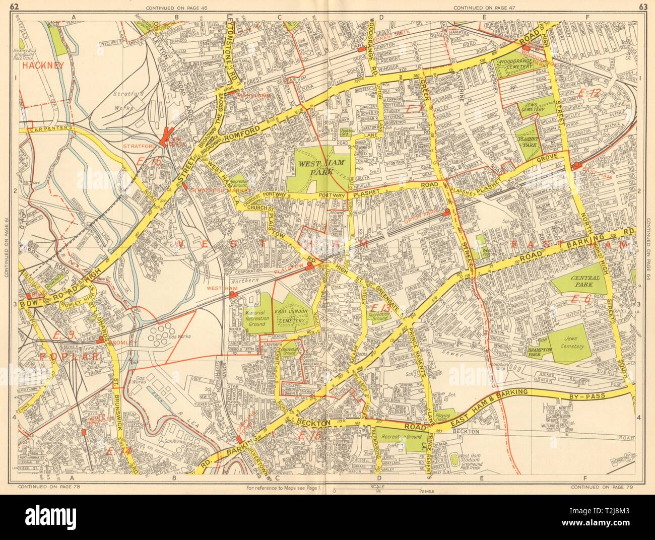 London East Map.London East End Tower Hamlets Newham Stratford West Ham Geographers