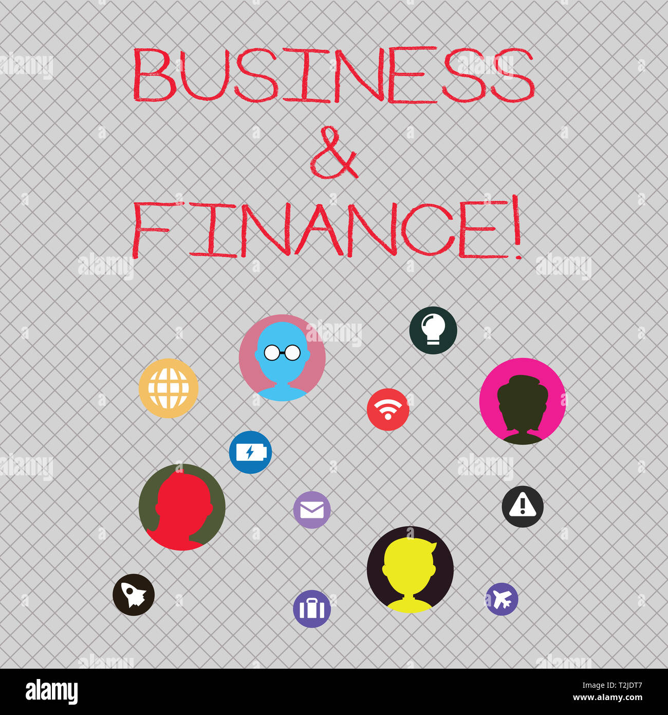 Conceptual hand writing showing Business And Finance