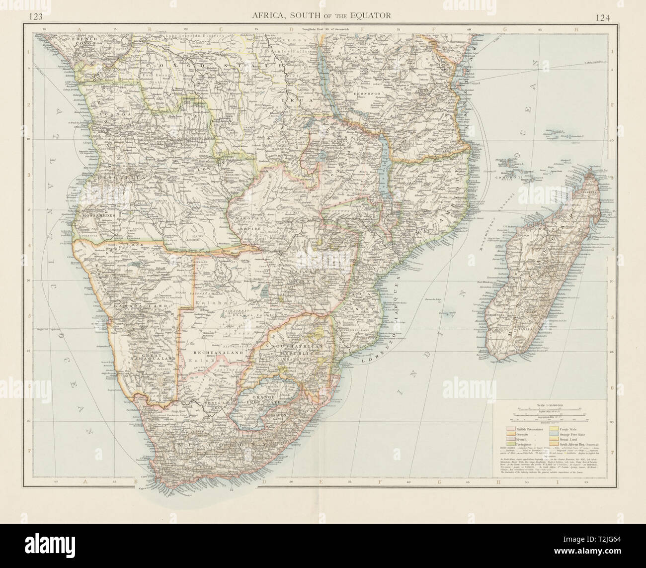 Map Of Africa With Equator.Africa Map Equator Stock Photos Africa Map Equator Stock Images