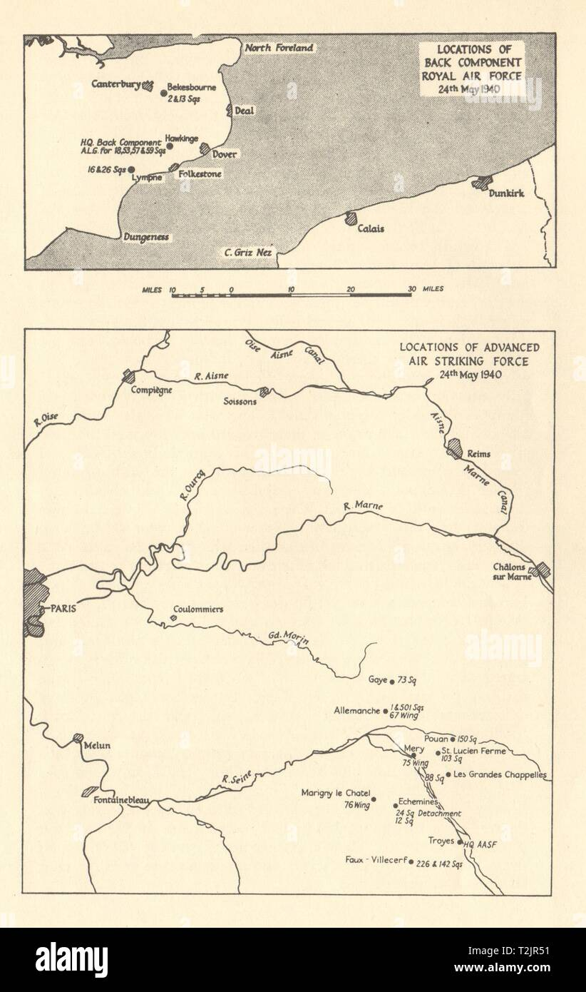 France 1940 Map Stock Photos & France 1940 Map Stock Images - Alamy
