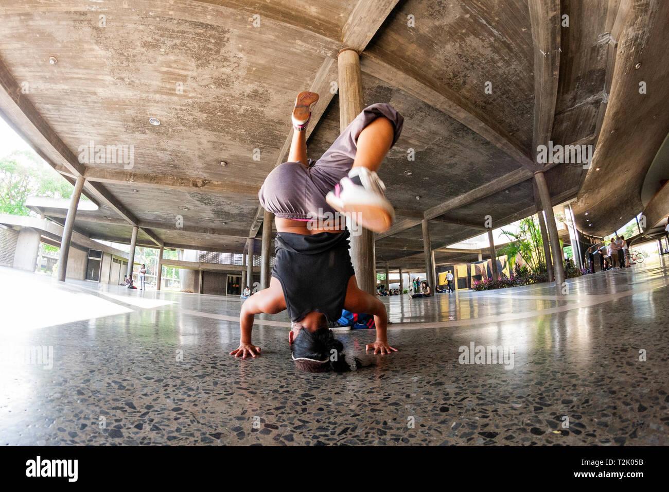 African American Break Dancing Stock Photos & African