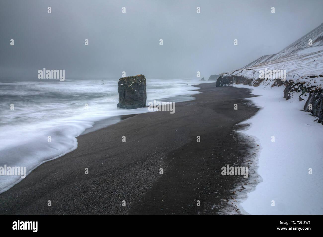 Iceland, Djupivogur, Laekjavik, Europe - Stock Image