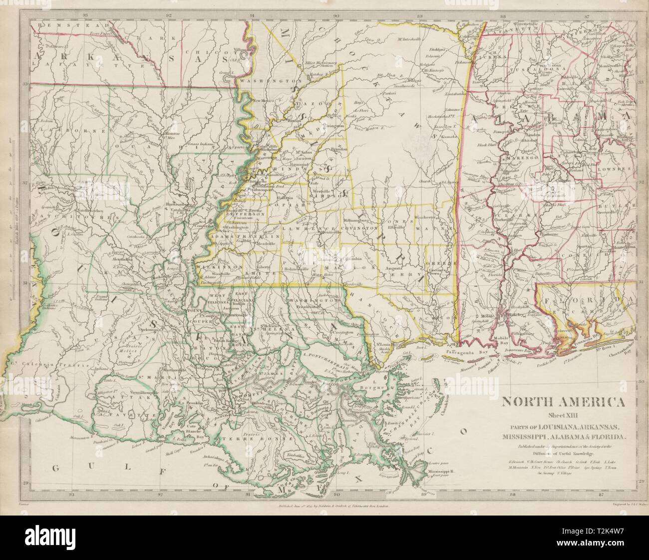 Map Of America Gulf Coast.Vintage Map Of The Gulf Coast Stock Photos Vintage Map Of The Gulf