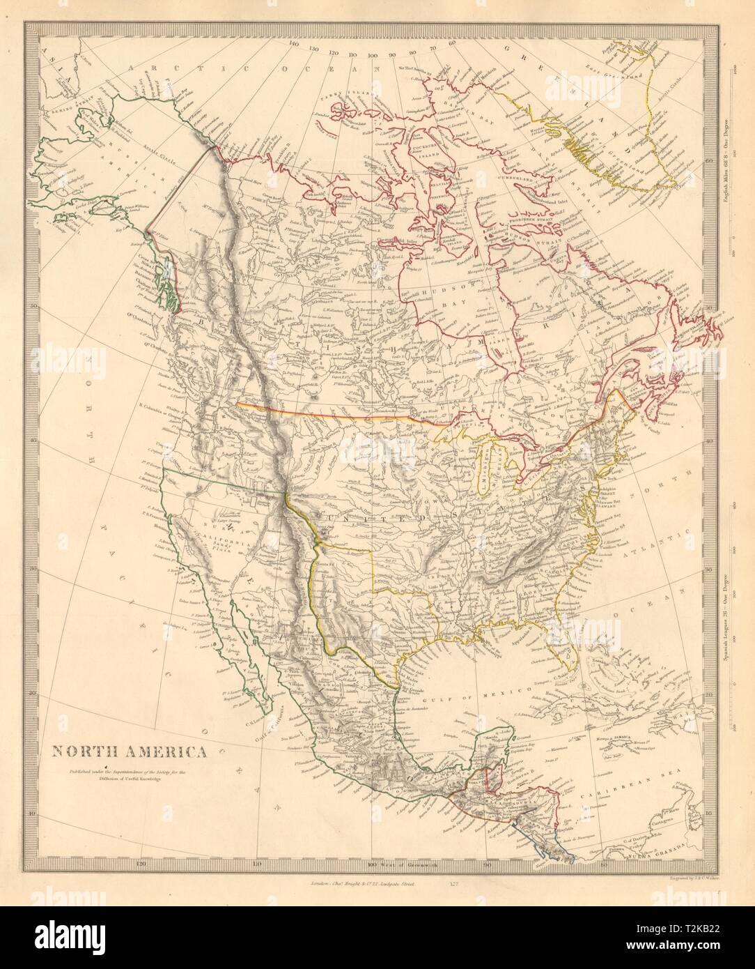 Map Of America Texas.North America Texas Republic Mexican California Russian